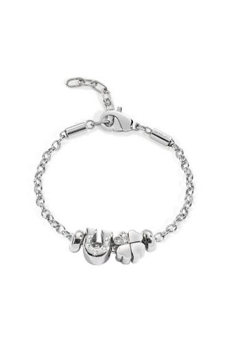 Morellato silver Drops Bracelet SCZ348 Steel Crystals D1456ACE40BE1BGS_1