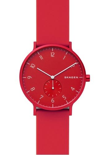 Skagen red Aaren Kulor Watch SKW6512 45E9EACF2D8F46GS_1