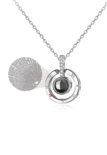 "CELOVIS silver CELOVIS - Fayre ""I Love You"" Projection Necklace in Silver 29918AC7EFF4C8GS_1"