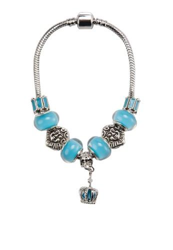 皇冠吊esprit china飾雕刻閃石手環, 飾品配件, 手鐲 & 手環