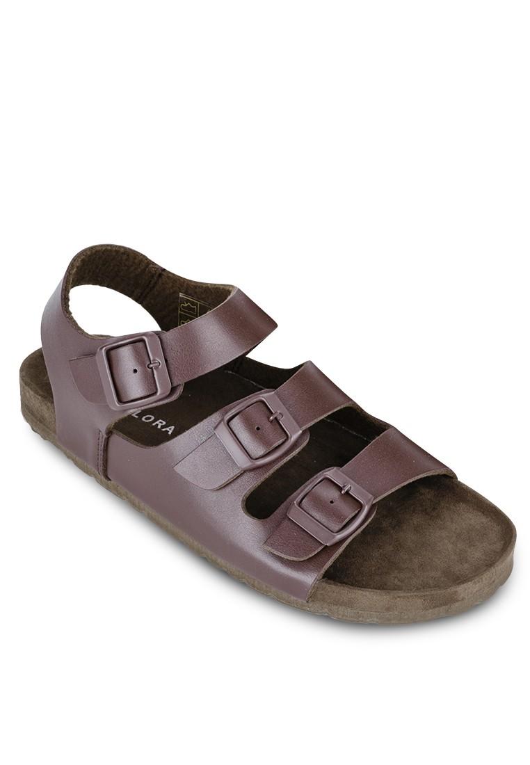 Triple Staps Sandals