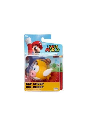 Kidmoro Nintendo Super Mario: W24 EEP CHEEP 2.5-inch Figure with Simple Articulation 834BCESC995123GS_1