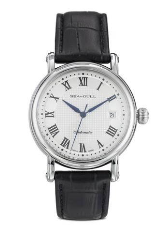 819.368 ST2130 38zalora 台灣門市.5mm 機械皮革手錶, 錶類, 飾品配件
