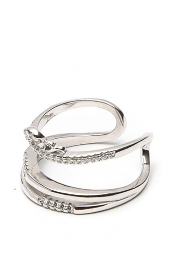 Silverworks silver Princess Crown Ring SI696AC0JZOGPH_1