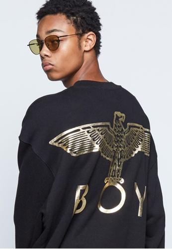 BOY LONDON 黑色 BOY LONDON BIG EAGLE BOY SWEATSHIRT 3A013AA1A98B56GS_1