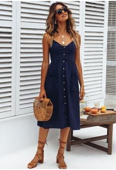 5911d5f08cac6 53% OFF Seoul in Love Myra Dress in Navy Blue S  99.90 NOW S  46.90 Sizes S  M L XL XXL