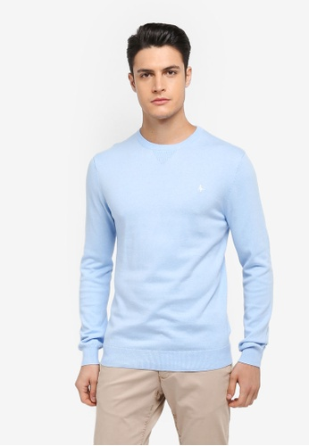 Jack Wills blue Seabourne Crew Neck Jumper E1034AA0C7108AGS_1