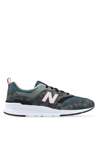 New Balance green and multi 997H Lifestyle Shoes 0A284SH36BD0F5GS_1