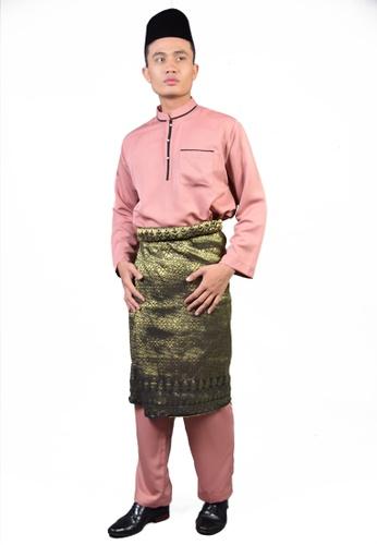 Denai Boutique pink Baju Melayu Sayyed CD2D5AA8A40C71GS_1