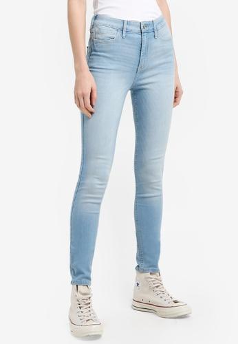 Hollister blue Light Super Skinny Jeans E5705AA78EE197GS_1