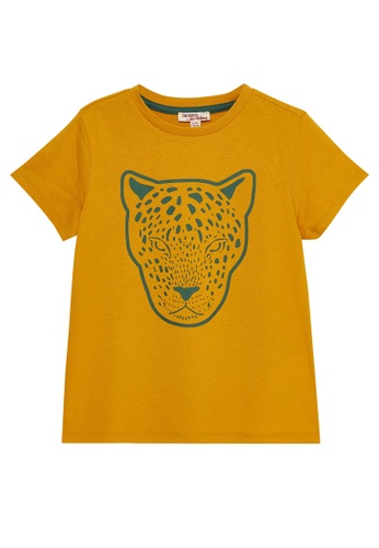 Du Pareil Au Même (DPAM) orange Orange T-shirt B2053KAC666F6CGS_1