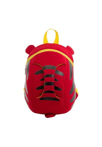 Nohoo red Nohoo Kids Backpack Tiger (Red) CD172KCAD54D5CGS_1