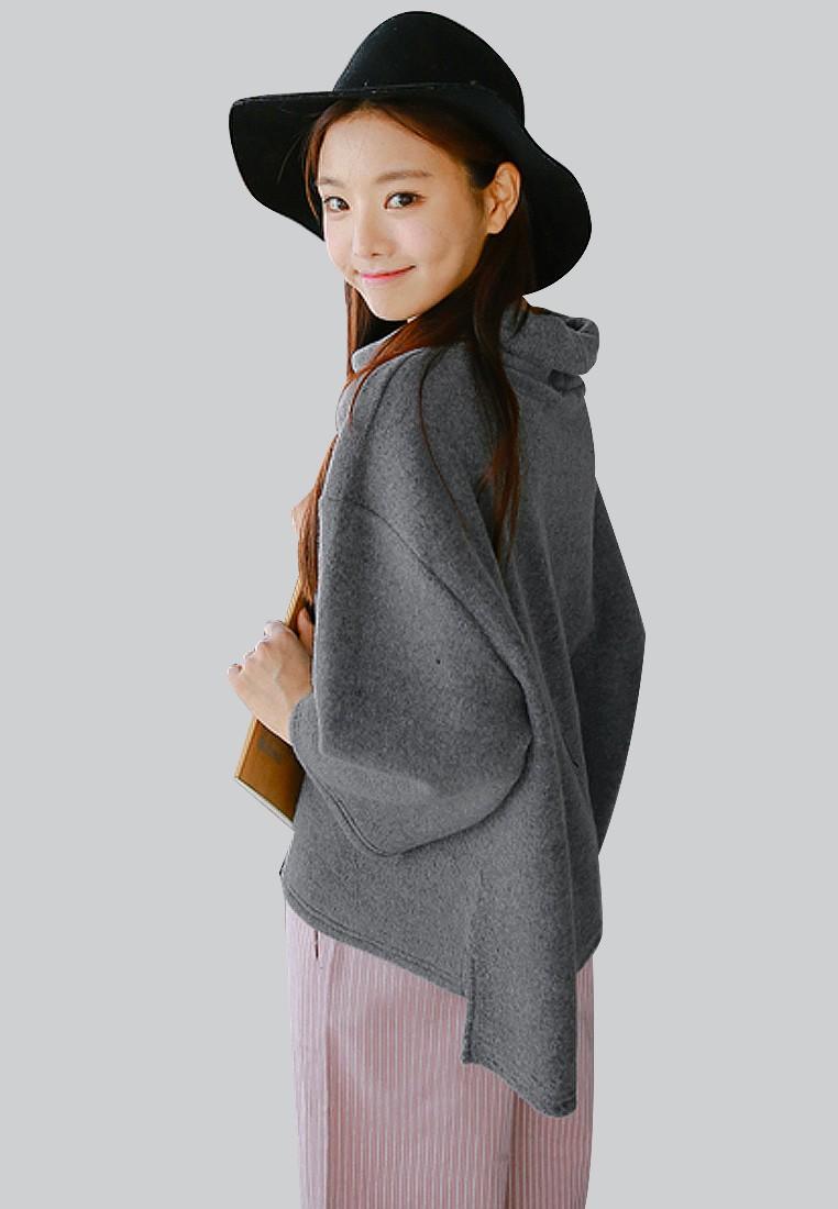 Oversized Posh Fleece Top