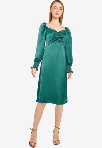 Little Mistress green Emerald Sweetheart Midi 6A42BAAC7ABE4FGS_1