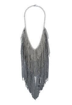 Chain Waterfall Necklace
