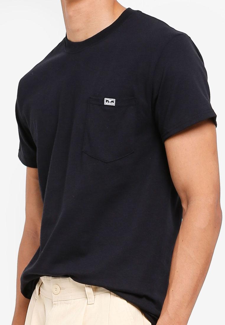 Tee Sleeve Short Black All Eyez Pocket OBEY ZxqInRBAwn
