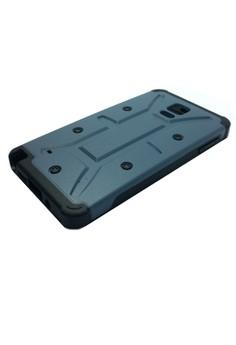 Armor Shockproof Case for Samsung Note 4 (Blue)