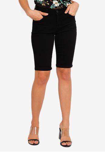d1120d6d4103 Buy Dorothy Perkins Black Knee Short Online on ZALORA Singapore