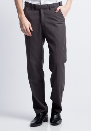 Van Heusen grey VAN HEUSEN FORMAL PANTS F99D0AAF0BDCE9GS_1