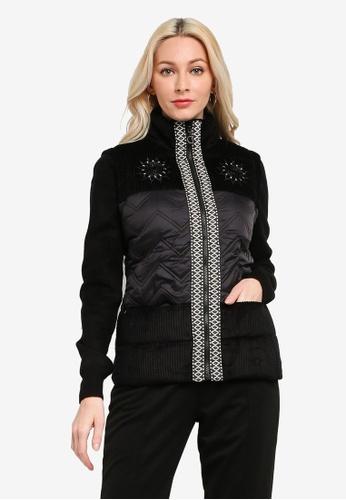 Desigual black Slim Short Jacket 4D31EAAE58A771GS_1