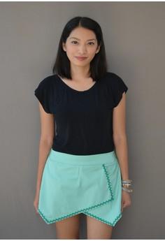 Samantha Origami Shorts - Green