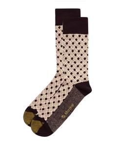 Basket Pattern Socks