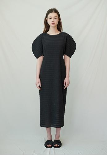 TAV [Korean Designer Brand]  Graham Dress - Black F22FCAA8281D44GS_1