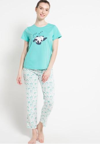Puppy white and blue Bordir Panda PU643AA98EQFID_1