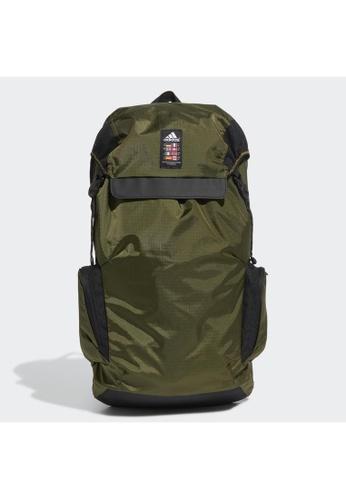 ADIDAS green adidas Explorer Primegreen Backpack E89A5ACA35AF72GS_1