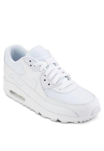 Nike white Men's Nike Air Max '90 Essential Shoes FD1A4SH956D4C9GS_1