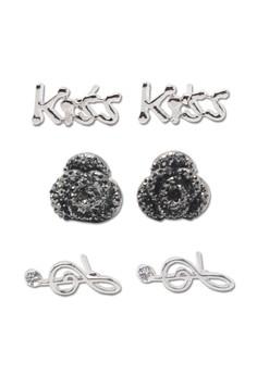 Earrings Set 4 (3 Pieces Set)