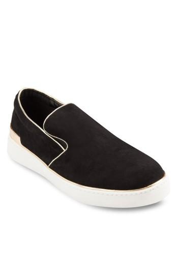 Clio 撞色滾邊懶人布鞋, 女鞋,esprit tw 鞋