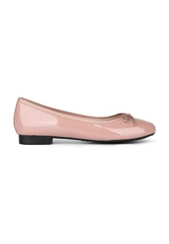 MAUD FRIZON pink Patent PU ballerina 49243SH7B4A351GS_1