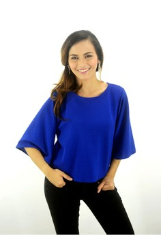 Shaina Fluttered Sleeves Top