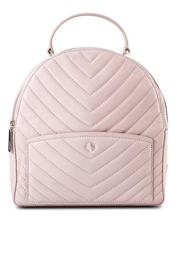 kate spade new york pink Amelia Medium Backpack (cv) F6F14ACB966295GS_1
