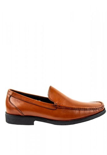 Otto brown Comfy Slip-On Loafers EFDC1SH0D9EBC9GS_1