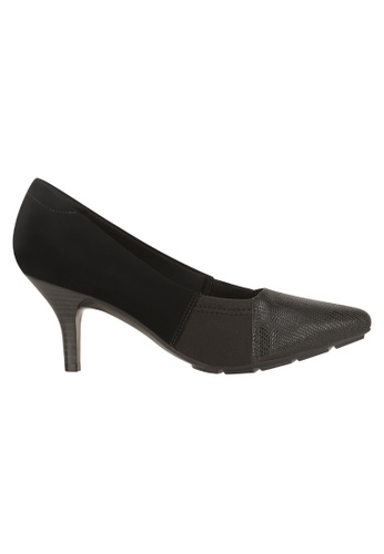 Beira Rio black Patch Work Solid Colored Elegant Shoes MO998SH96EVRHK_1