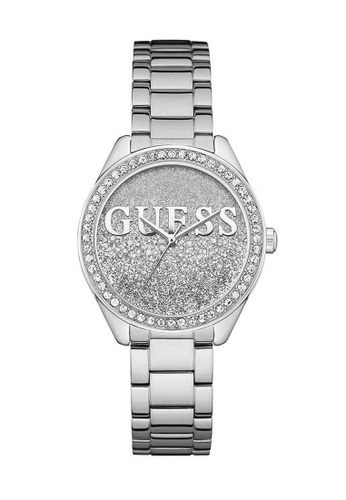 Guess Watch silver Guess Glitter Girl Silver Stainless Steel Watch GU514AC2UX5ZHK_1