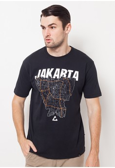 harga Casuals Jakarta Peta Black Zalora.co.id