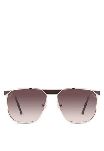 JP0414 方框飛行員太陽眼鏡, 飾品配件, 飾品配esprit 鞋件