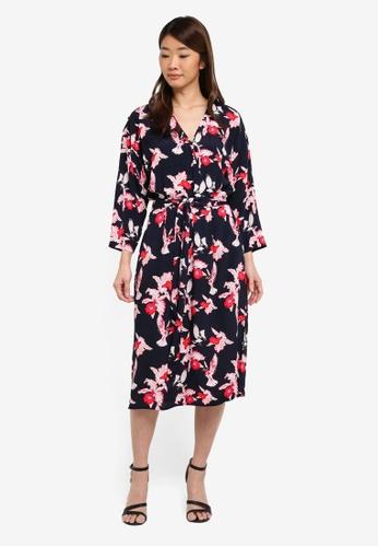 140a978a57c5b Buy Modstrom Fedora Print Dress Online on ZALORA Singapore