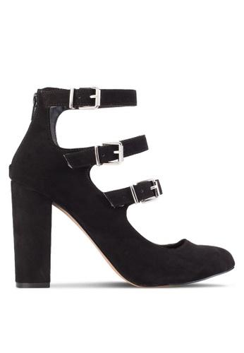 Dorothy Perkins black Black Dandelion Buckle Court Shoes DO816SH55SCIMY_1