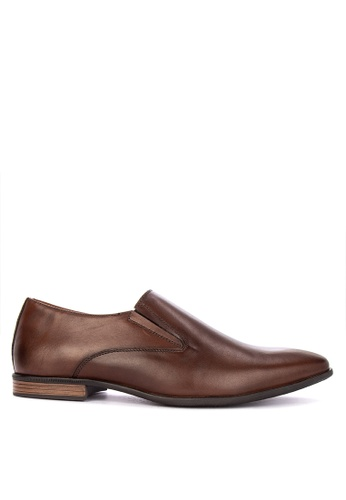 Alberto brown Genuine Leather Comfort Shoes B14B5SH0B31D77GS_1
