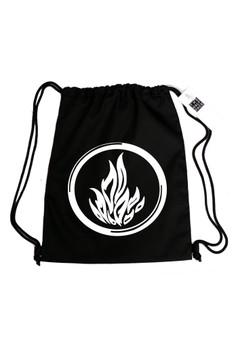 Divergent-Dauntless Drawstring Bag