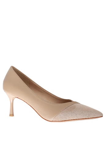 Twenty Eight Shoes Color Matching Suede Leather Round Pumps 2065-29 FEE9ESH7EFC9FEGS_1