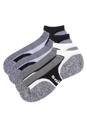 撞色印花舒適隱形esprit專櫃襪, 服飾, 服飾
