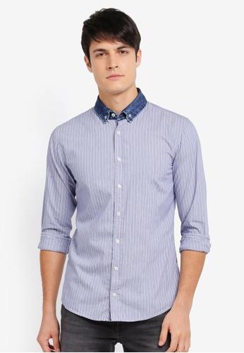 BOSS blue Epreppy Shirt - Boss Casual BO517AA0SRB7MY_1