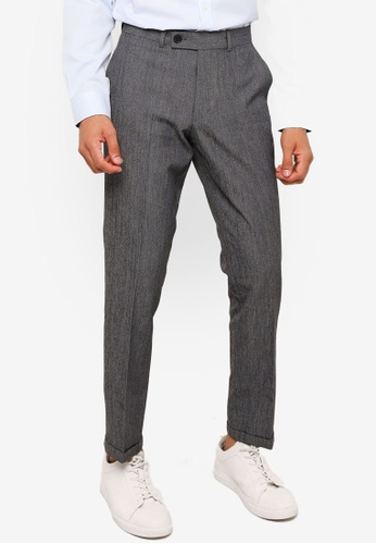 KOTON grey Classic Tailored Trousers 5B854AAA647060GS_1