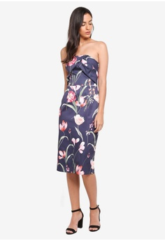 155b5d97d4c 60% OFF Dorothy Perkins Bardot Floral Pencil Dress RM 338.70 NOW RM 135.90  Available in several sizes