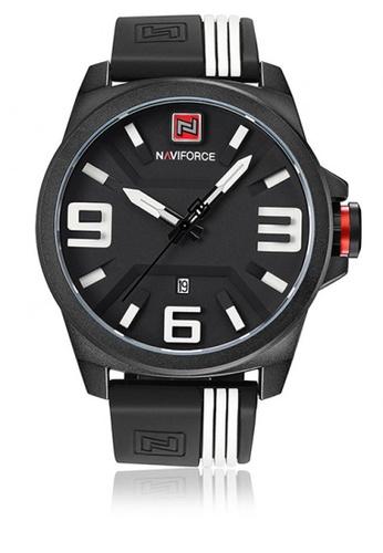 Naviforce black 9098 3ATM Water Resistant Analog Watch 944BBAC9765CB9GS_1